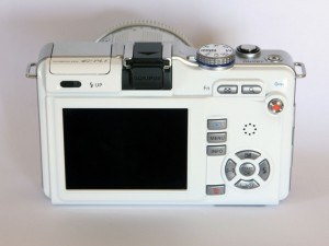 Olympus E PL1 back top