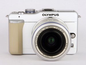 Olympus E PL1 front