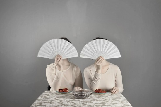 Rotem Two Ladies Concealing their Faces