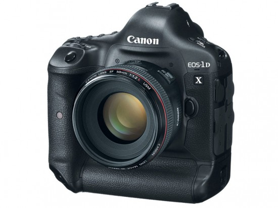 Canon EOS 1D X front side