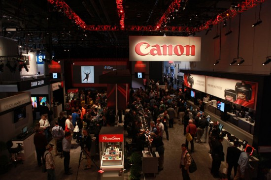 Canon booth 1