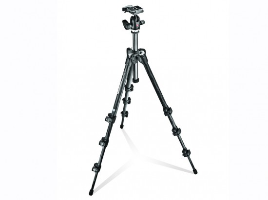 293 Carbon Fiber Kit Tripod 4 sections with Ball Head QR