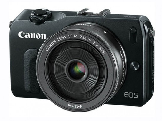 Canon EOS M front side