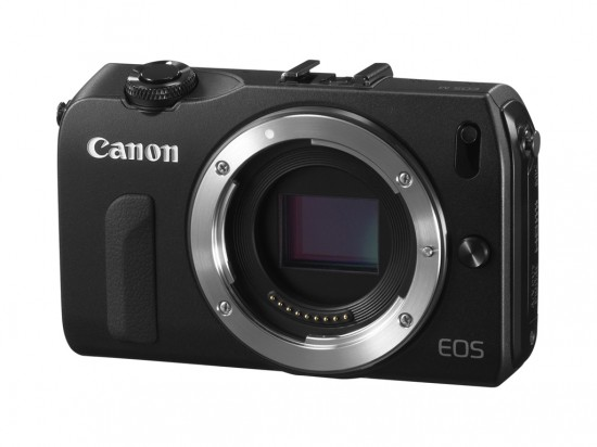 EOS M front side no lens