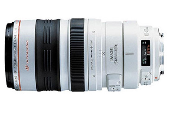 canonef 100 400mm f4 5 5 6l is usm