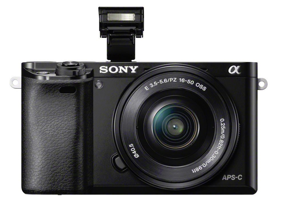 Sony A6000 front