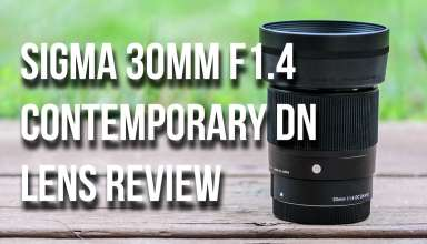 Lensvid Sigma 30mm F1.4 Contemporary DC DN Lens review