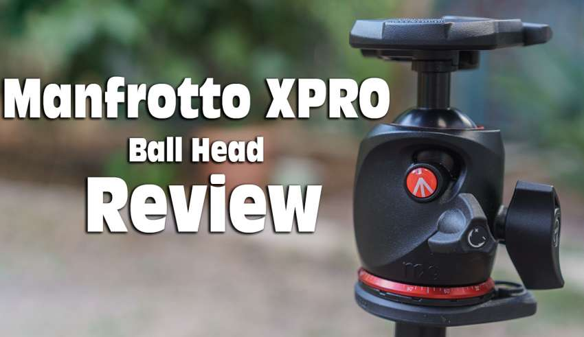 Manfrotto XPRO Ball Head review youtube