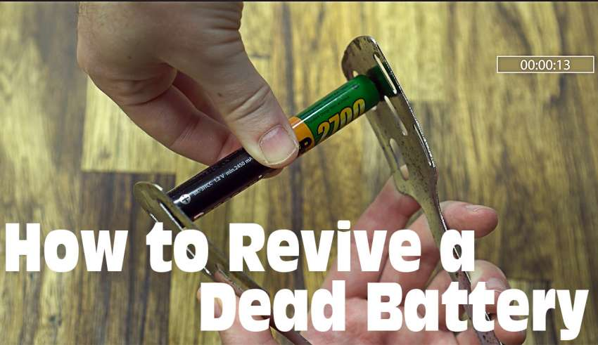 how to revive a dead battery youtube 1