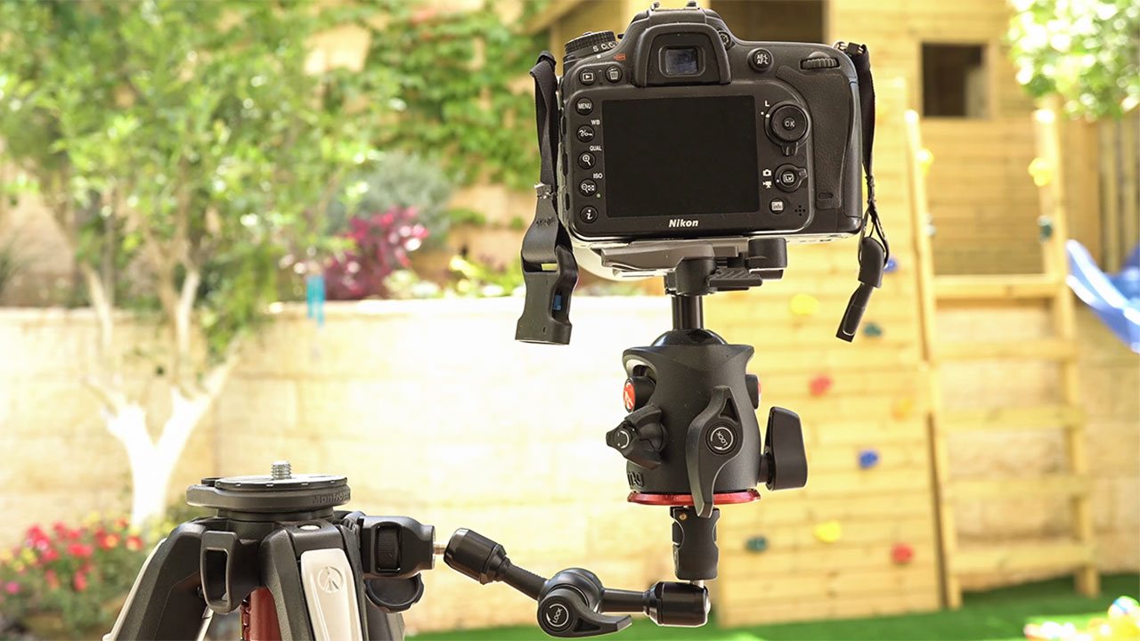 Manfrotto 244 magic arm review holding camera