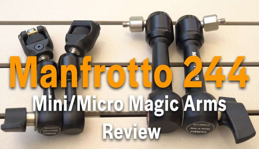 Manfrotto 244 magic arm review youtube