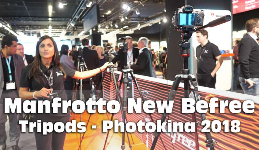 Manfrotto Befree tripods youtube
