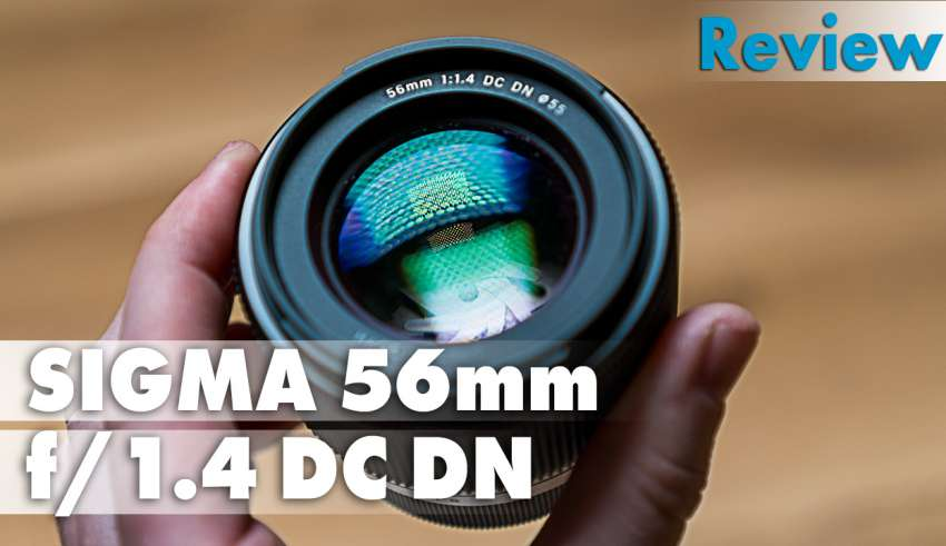 Sigma 56mm f14 DC DN Review youtube