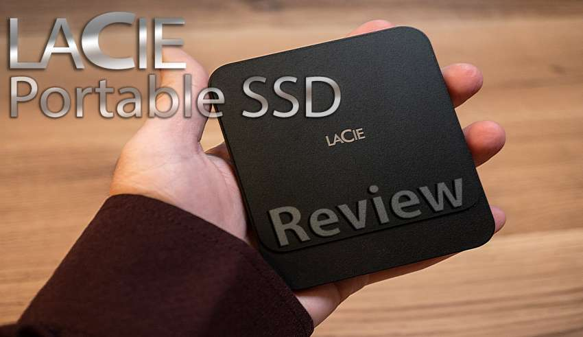 Lacie portable ssd review youtube