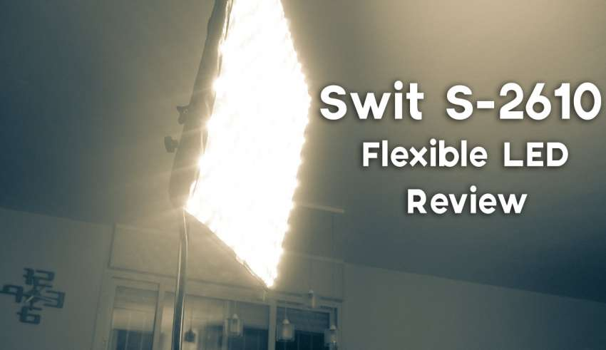 Swit S 2610 Flexible LED Review youtube