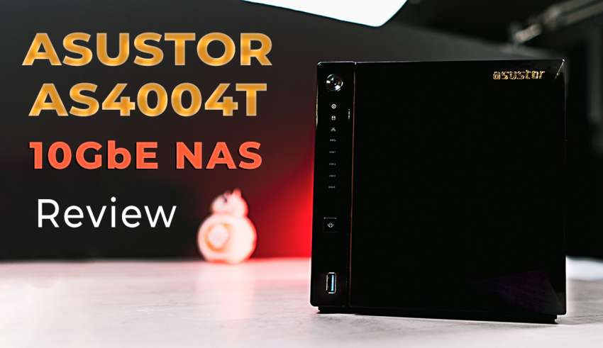 ASUSTOR AS4004T 10gbE NAS Review youtube pic