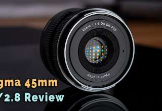 Sigma 45mm f 2 8 review youtube