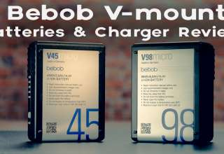 Bebob Mini V Mount Batteries and Charger Review