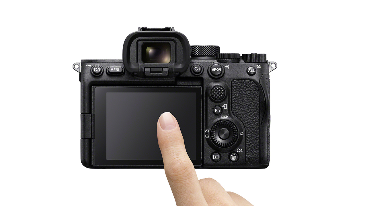 A7S III touch