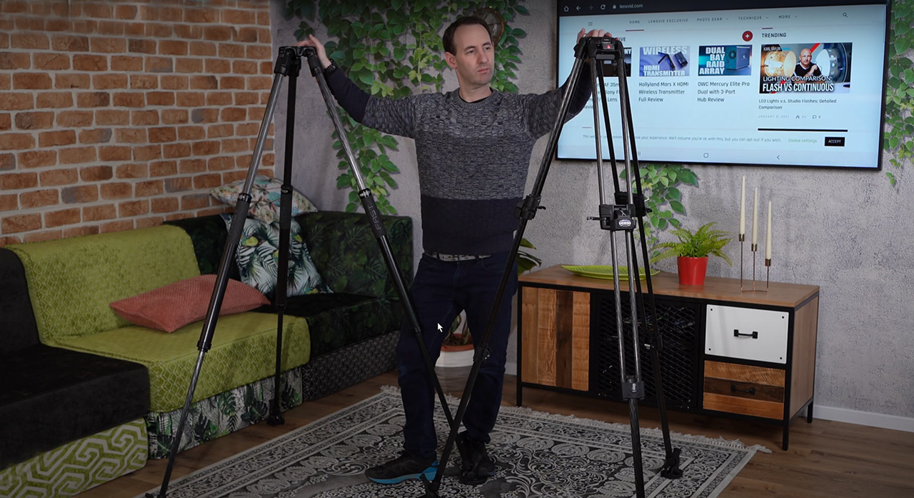Manfrotto 635 and Manfrotto 645 Fast Tripods