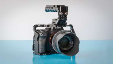 Nitze Cage for Sony aS7III and Stinger Handle 1